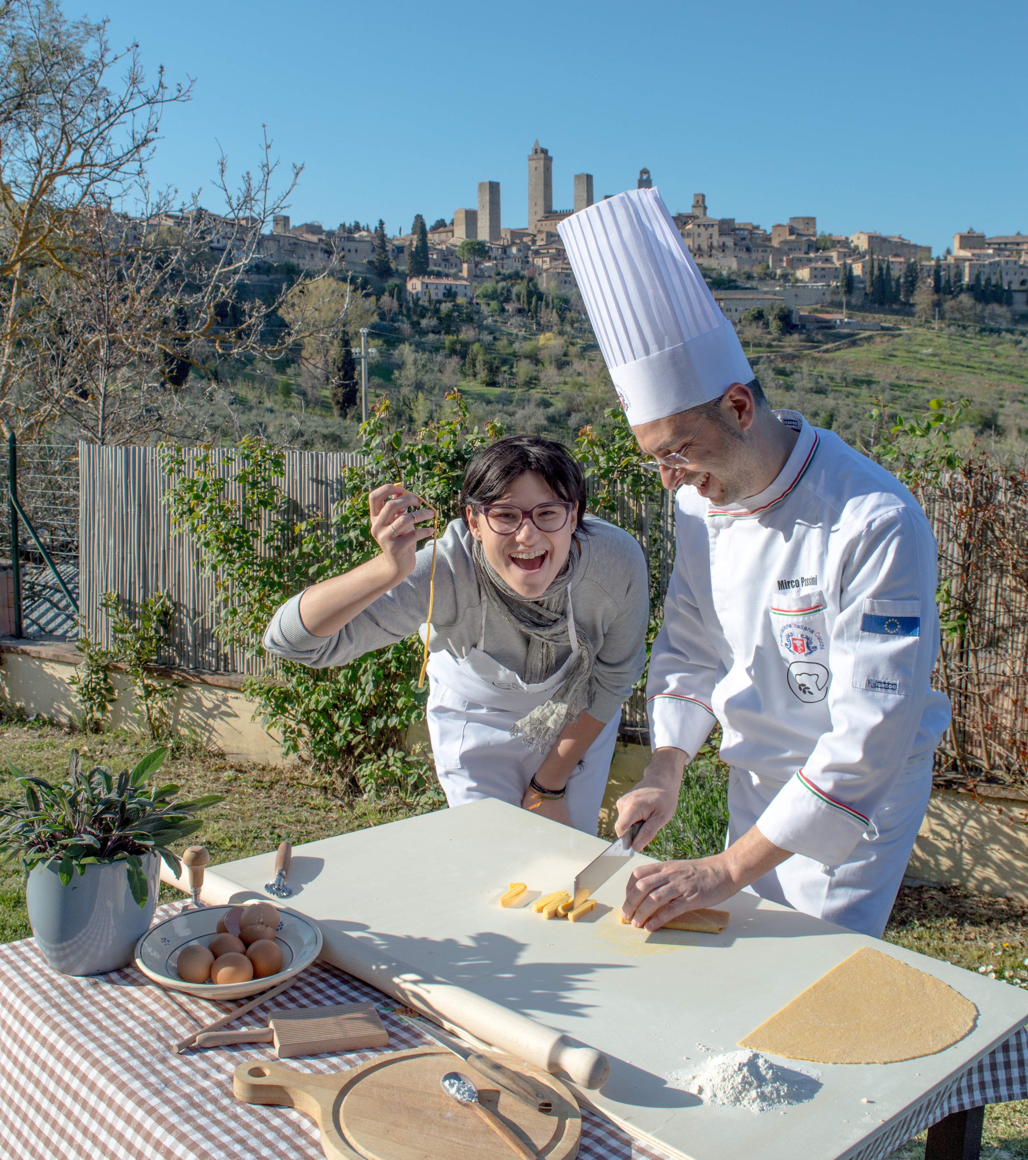 Bed and Breakfast San Gimignano cooking class